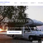 Camper Service Portugal website maken