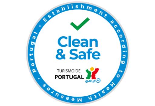 Clean & Safe zegel alojamento local portugal vanwege het coronavirus