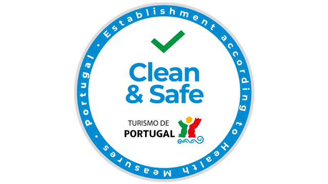 Clean & Safe zegel alojamento local portugal vanwege het coronavirus