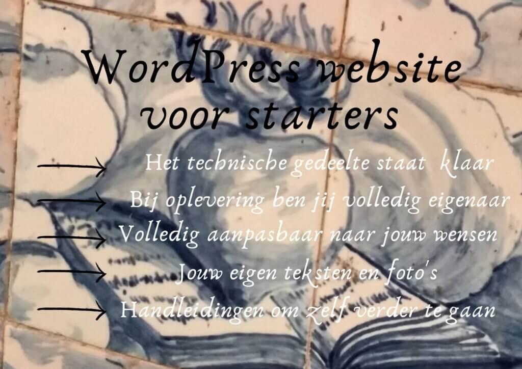 Wordpress website voor starters door Portugalore