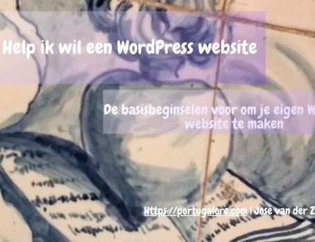 Webinar WordPress website
